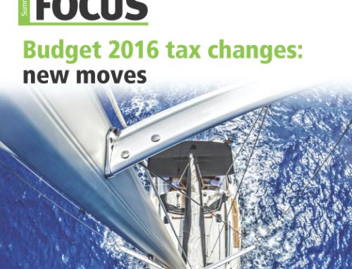 2016 Summer Financial Update